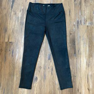 Seven7 Faux Leather Leggings High Waisted Large